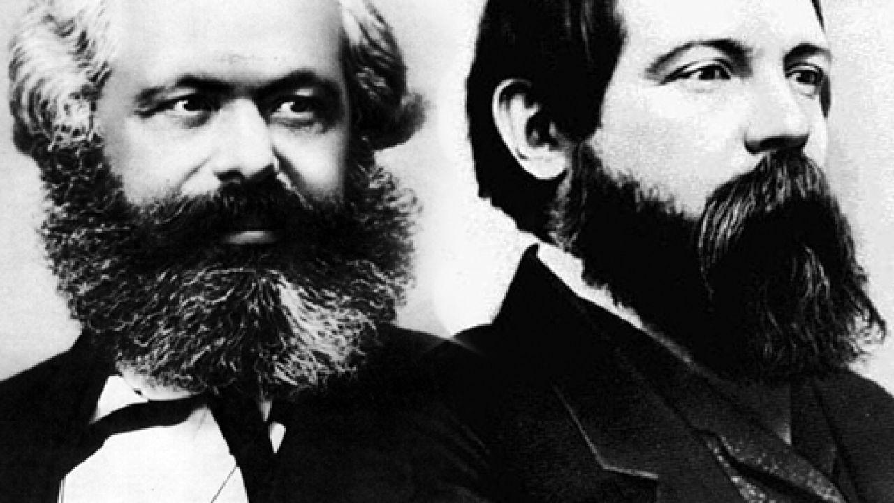Engels y Marx | Foto:Cedoc