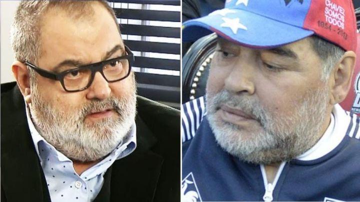 Jorge Lanata picante sobre la herencia de Diego Maradona