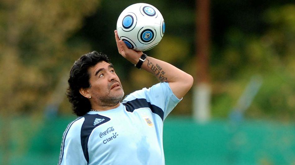 Recorrida por los últimos años en la vida de Maradona. Foto de Sergio Piemonte.