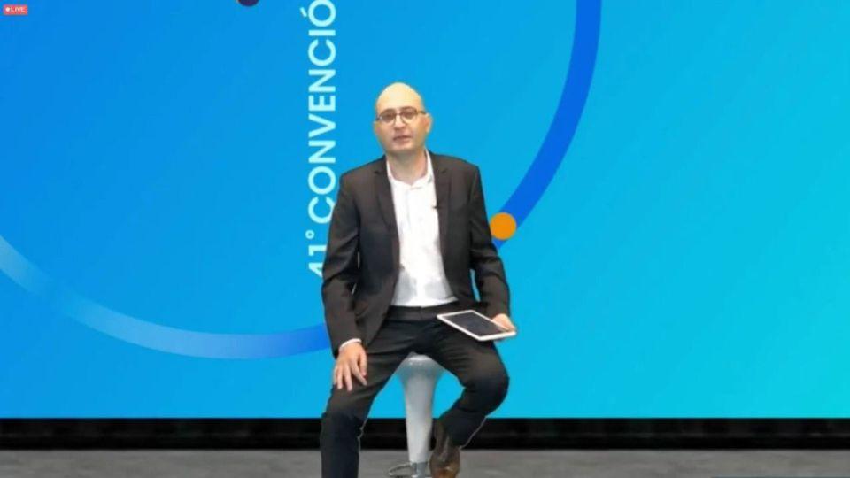 Santos Giannuzzo, Presidente del Comité Organizador de la 41º Convención del IAEF