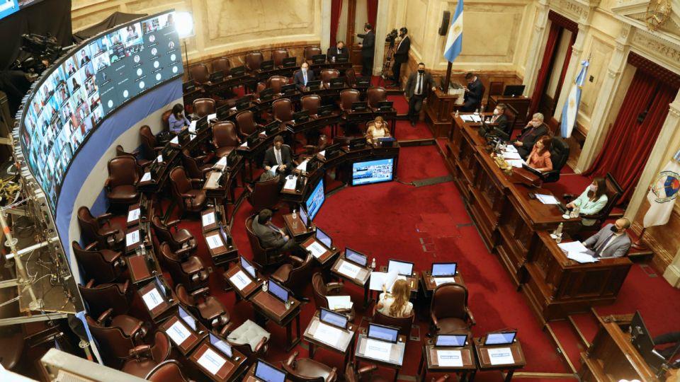 Senado de la Nación Argentina.