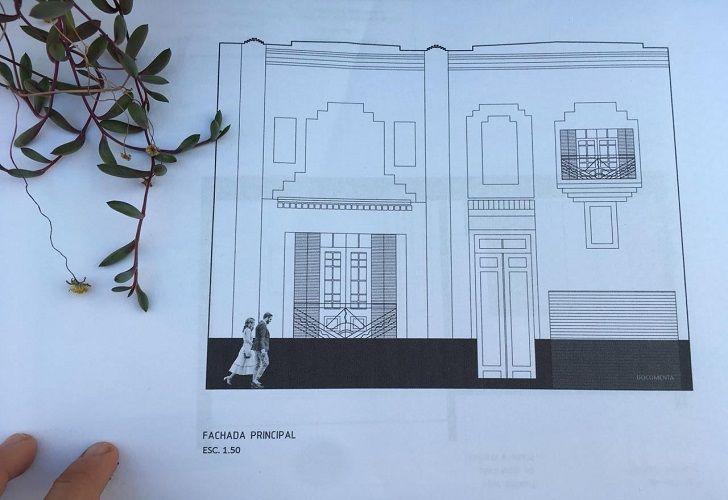 EN CONSTRUCCIÓN. Casa Documenta remodela su espacio: achica su sala y vuelve a la fuente.