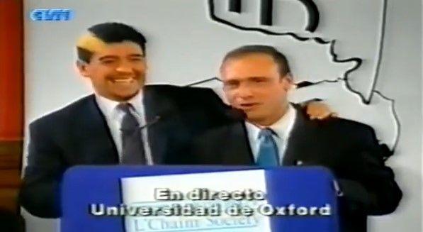 NEXO. El cordobés Esteban Cichello Hübner conocía a Maradona y fue el encargado de cursar la invitación.
