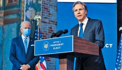 Canciller. Anthony Blinken, un veterano especialista en política exterior, será el secretario de Estado y comandará la diplomacia de Estados Unidos.