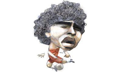 Pelusa, Diego Armando Maradona.