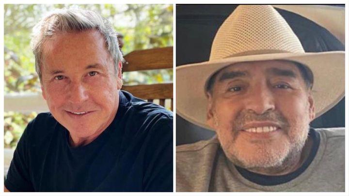 A tres días de su muerte, Ricardo Montaner recordó a Diego Maradona