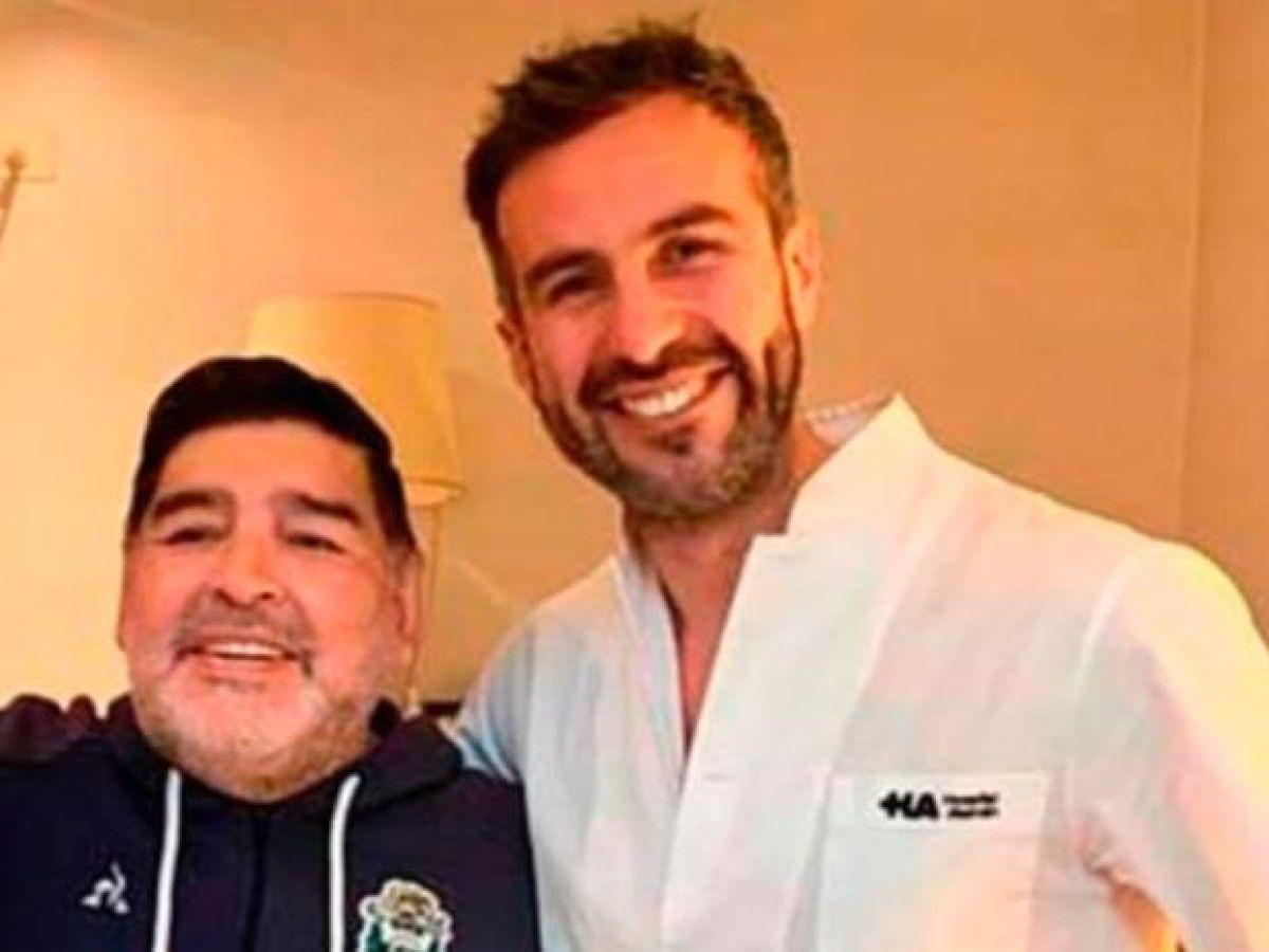 El Doctor Luque rompió en llanto y reveló cuál era el verdadero problema de Diego Maradona