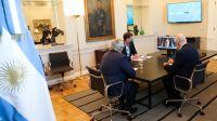 Alberto Fernández y Rodríguez Larreta pelean por la coparticipación porteña (Archivo)