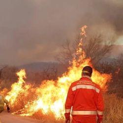 Los focos de incendio siguen acechando varias provincias argentinas.n