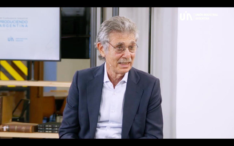 Hugo Sigman, CEO de Insud, en la Conferencia Industrial de la UIA.