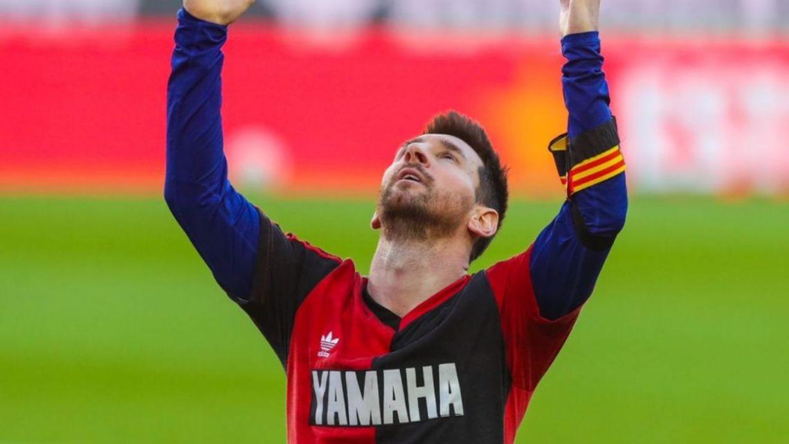 Here's how Messi paid tribute to Maradona