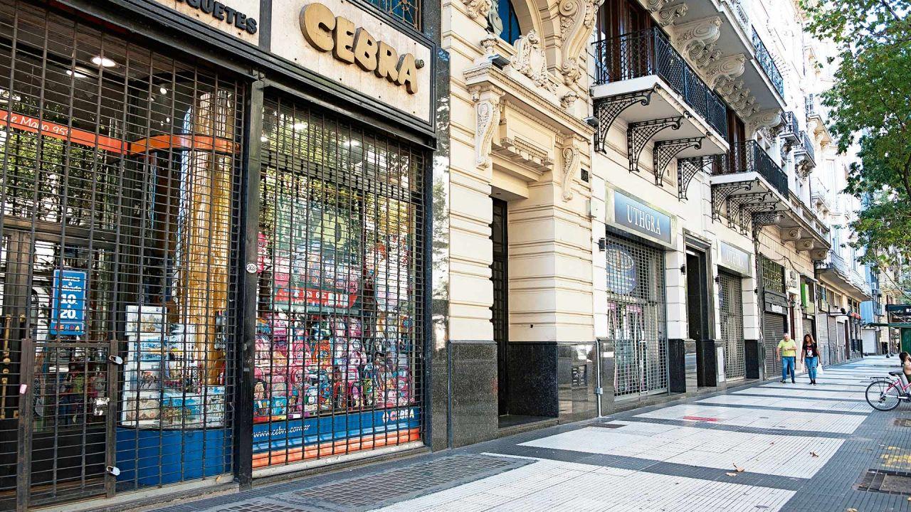 Cuarentena en Buenos Aires. | Foto:Néstor Grassi.