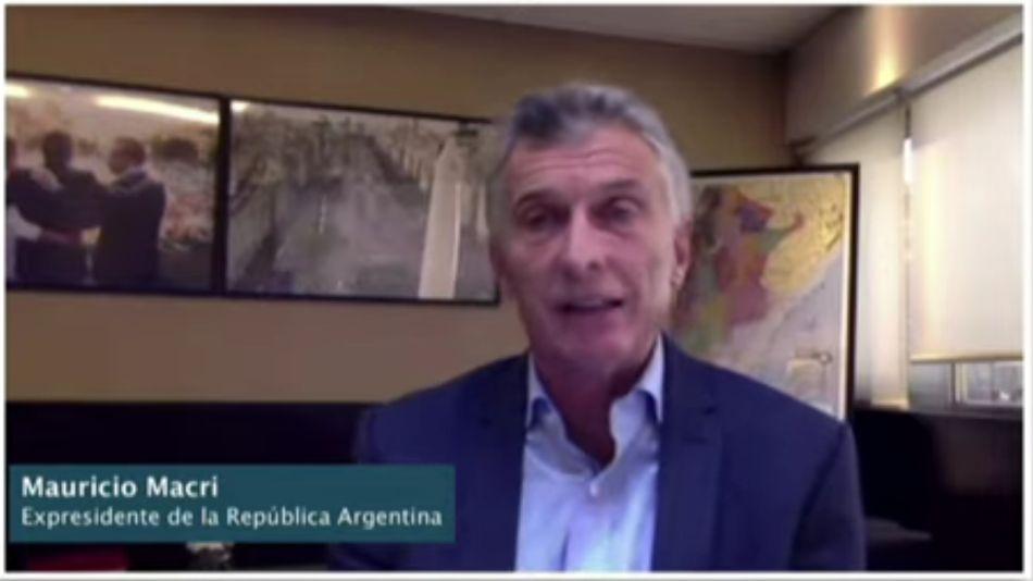 Mauricio Macri participó del Foro Internacional por la Libertad