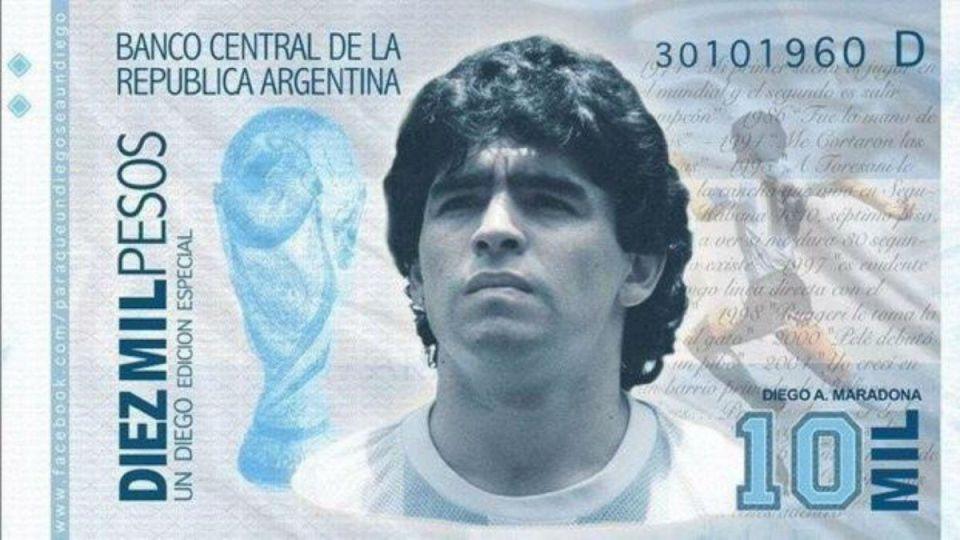 El billete de Diego Maradona necesitará de su magia