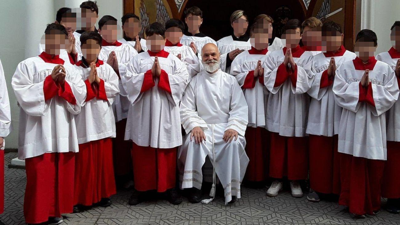 Raúl Sidders, el sacerdote acusado por abuso sexual.