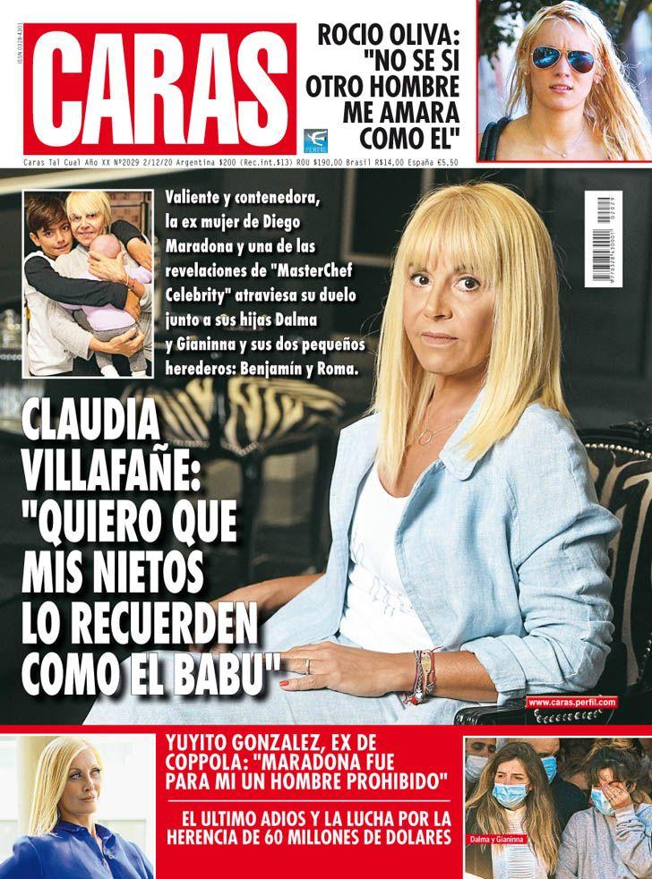 """Claudia Villafañe: """"Quiero que mis nietos recuerden a Diego como 'El Babu'"""""""