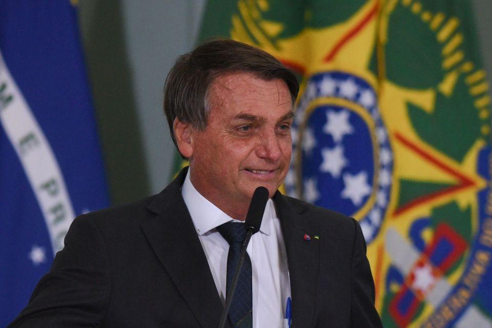 President Bolsonaro Attends A New Housing Initiative Ceremony