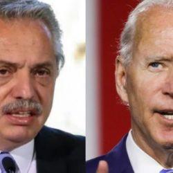 Alberto Fernández / Joe Biden