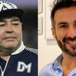 Diego Maradona - Leopoldo Luque | Foto:cedoc