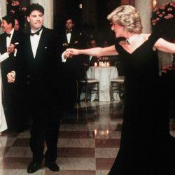 El baila de Lady Di y John Travolta