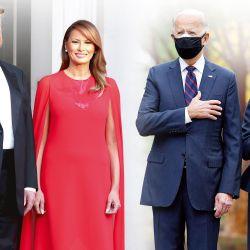 Los Trump y los Biden | Foto:Cedoc