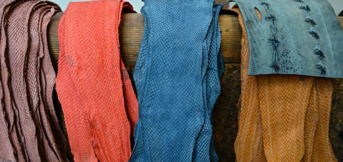 Una marca parisina utiliza piel de pescadopara crear bolsos y accesorios