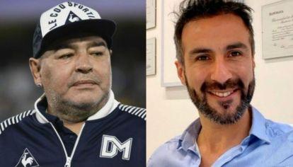 Diego Maradona - Leopoldo Luque