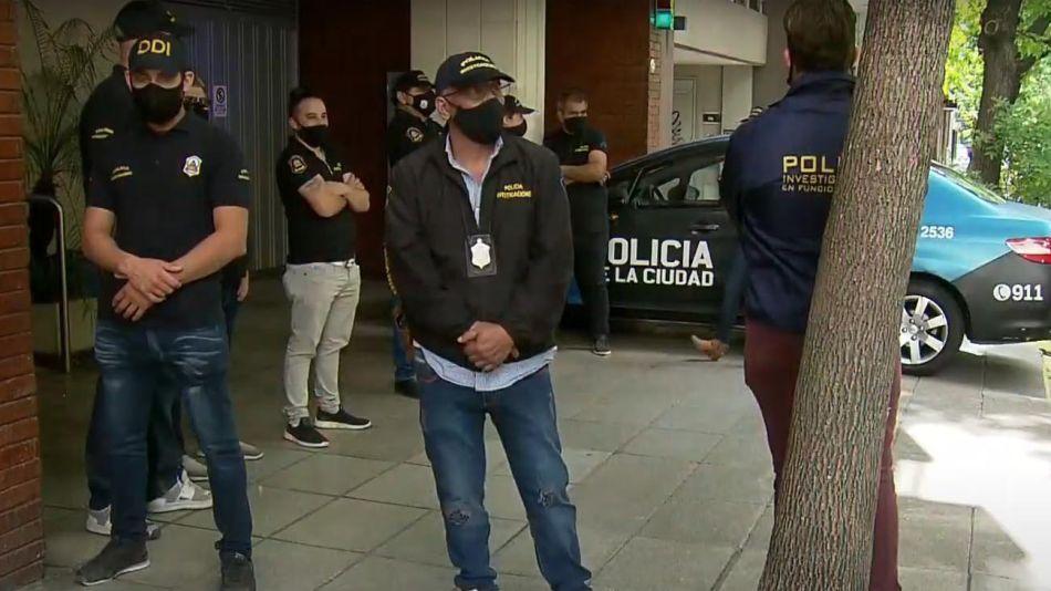 Allanamiento Psiquiatra Maradona 20201201