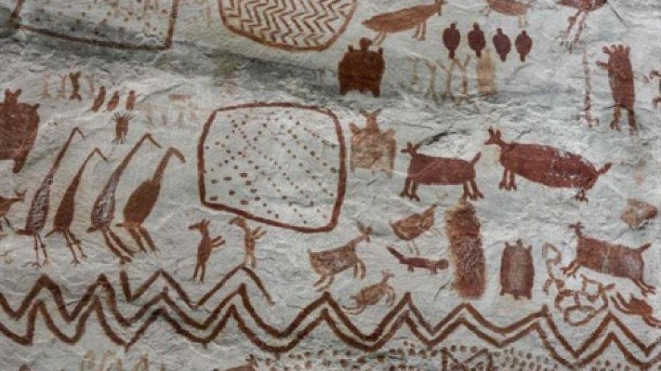 Descubren pinturas rupestres en Colombia