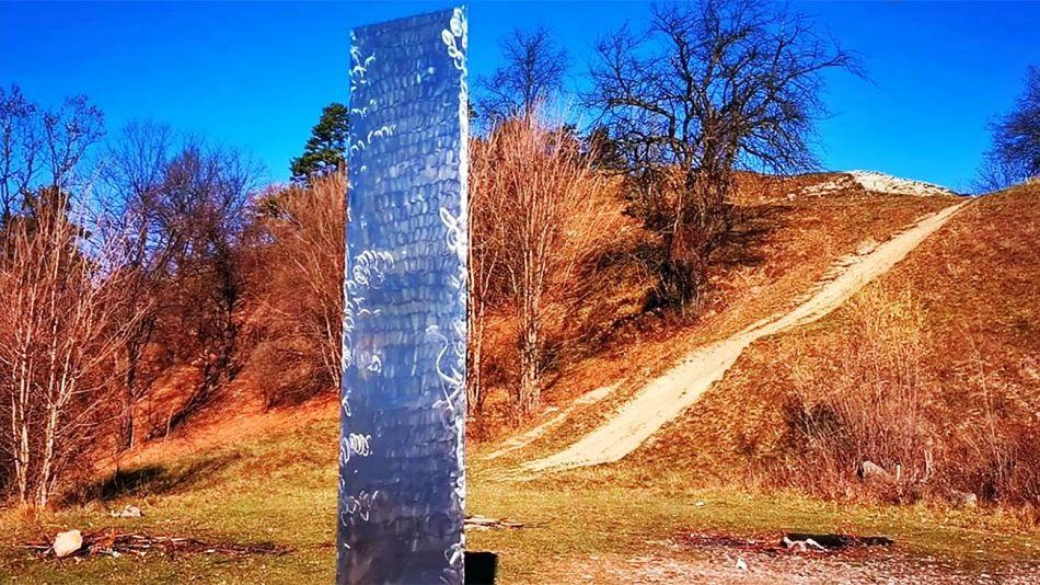 Misterioso Monolito Rumania 20201201