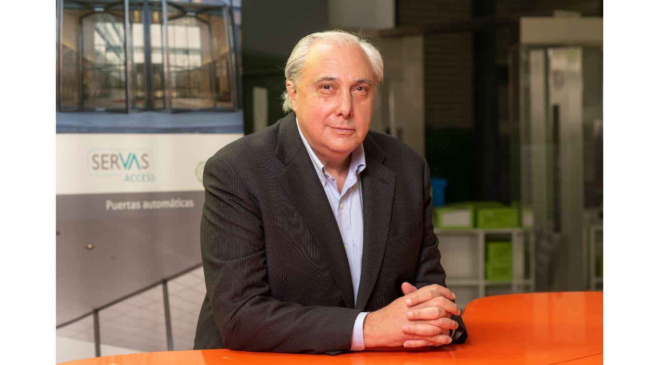 José Aizpun, presidente de Ascensores Servas