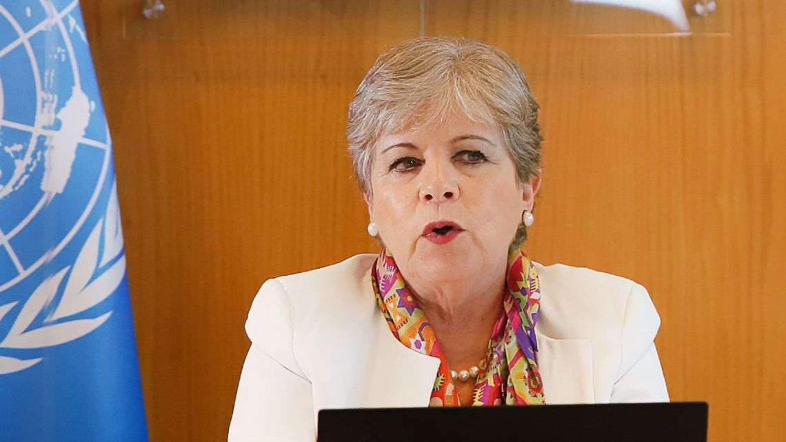 ECLAC Executive Secretary Alicia Bárcena presents the annual study of foreign direct investment in Latin America and the Caribbean 2020.