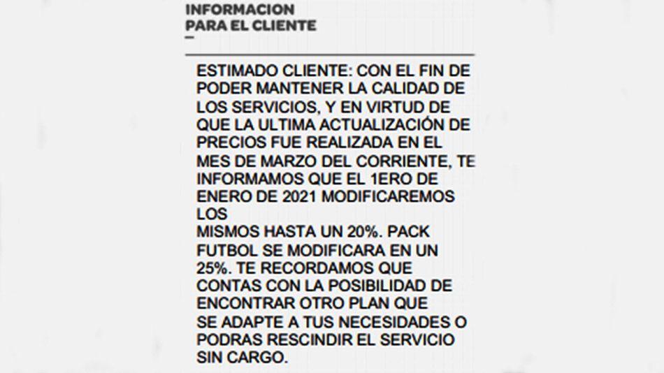 Cablevisión 20201201
