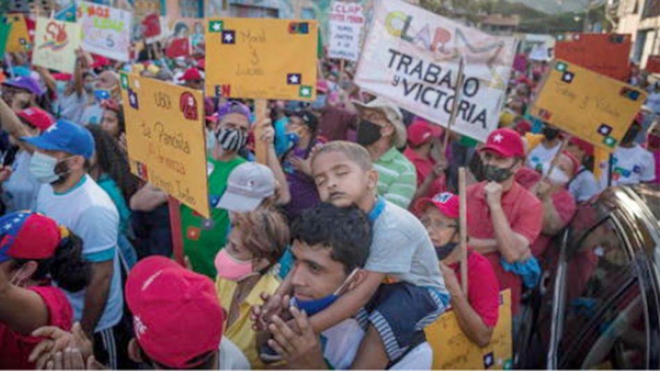 Venezuela proitestas 20201202