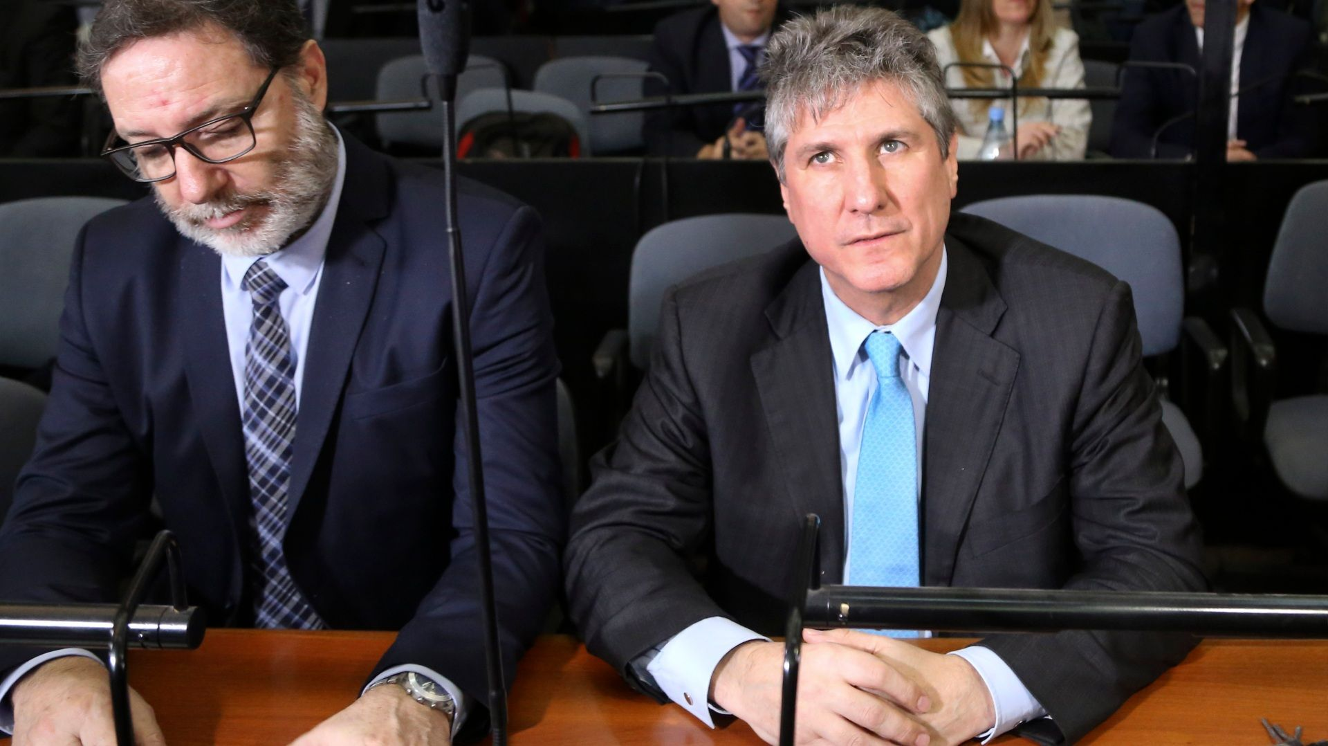 Amado Boudou escucha la condena por Ciccone en 2018