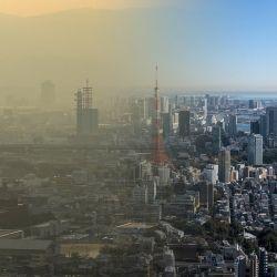 El 90% de la población mundial vive en zonas con contaminación atmosférica.