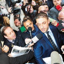 El abogado del diez fue quien hizo de nexo siempre con la prensa | Foto:Lerke