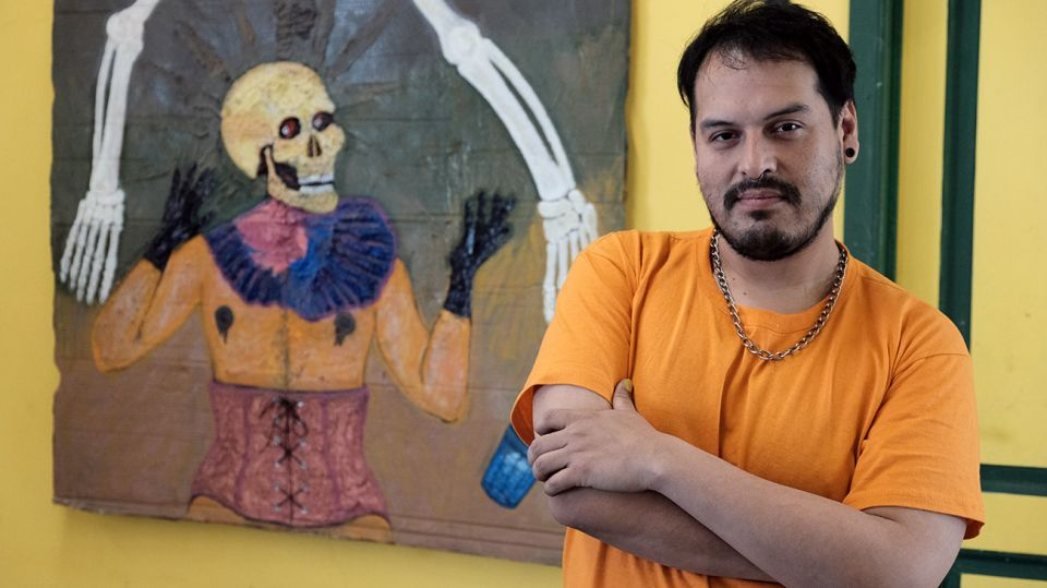 Mariano Altamirano, artista.