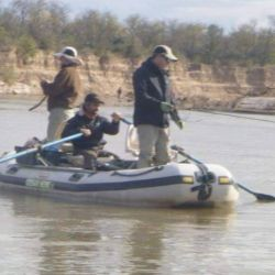 Magnífica pesca de dorados en el río Dulce