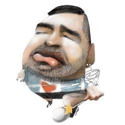 Diego Maradona | Foto:Pablo Temes
