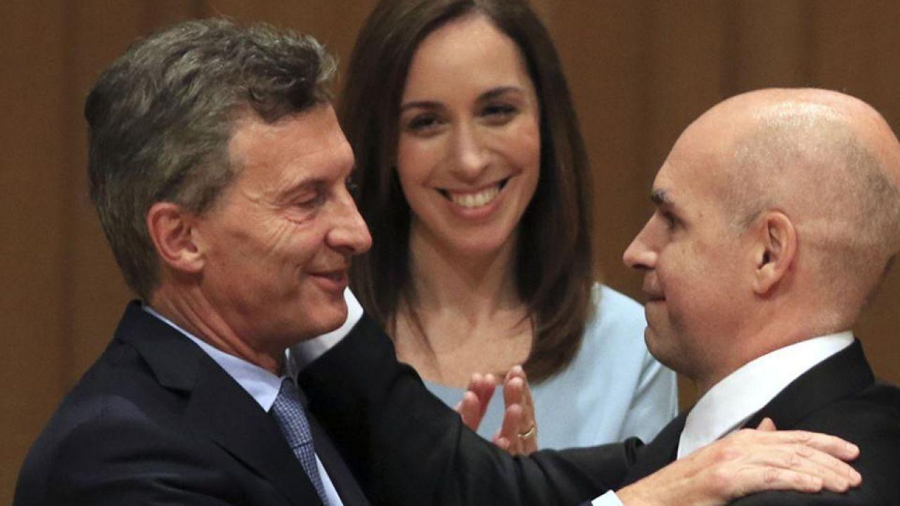 Macri, Vidal y Larreta