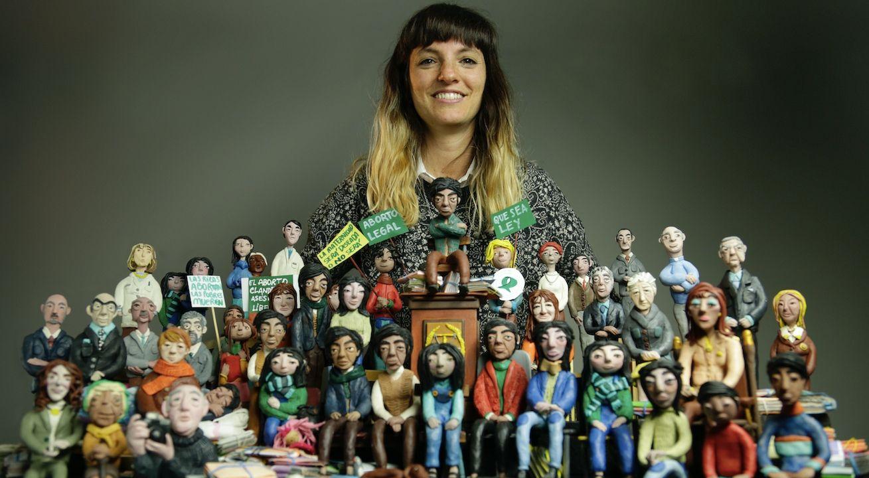 En total, Mariana creó 120 personajes para la película. Y 34 escenografías.