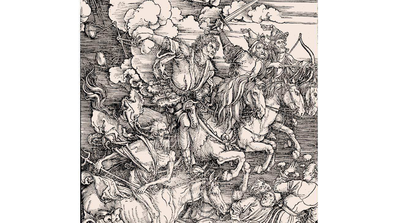 Los 4 jinetes del Apocalipsis, Alberto Durero.
