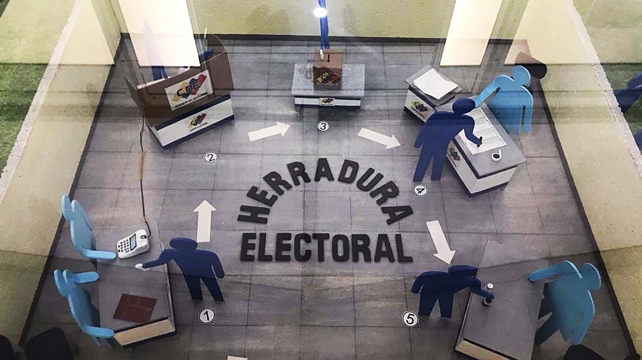 Circuito. La votación seguirá un estricto protocolo por el Covid.