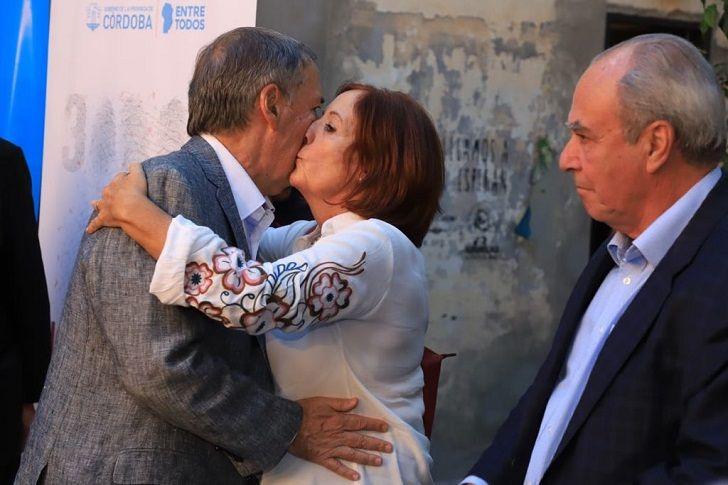 LA DAMA PJ. Vigo, la esposa de Schiaretti, clave en unas semanas de mucha discusión en el Congreso.