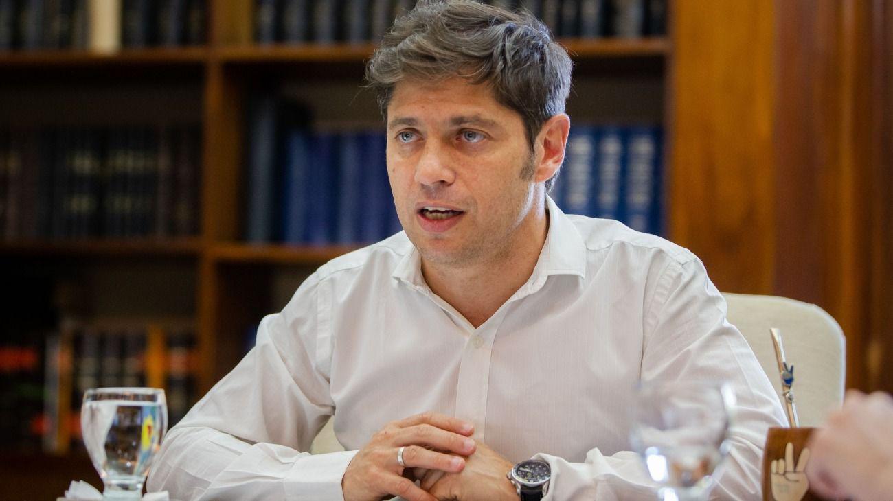 El gobernador de la provincia de Buenos Aires, Axel Kicillof-