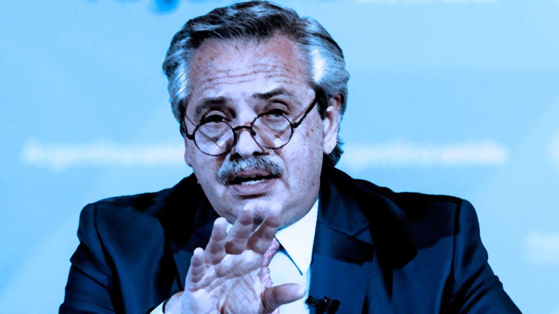 President Alberto Fernandez.
