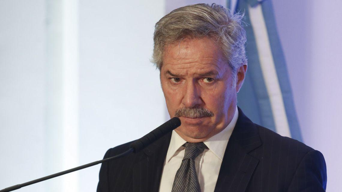 Foreign Minister Felipe Solá.