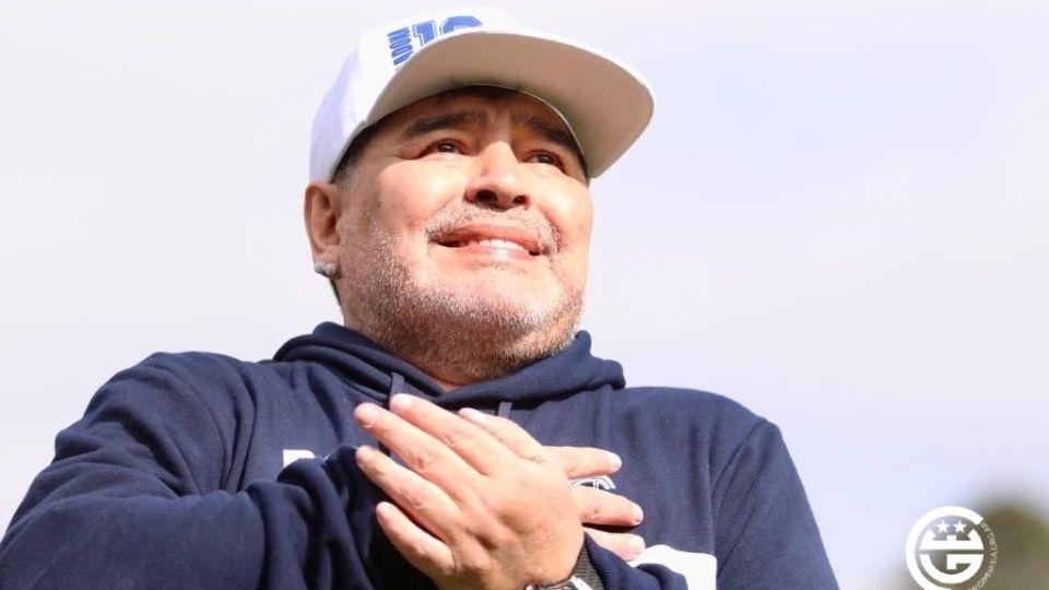 Diego Maradona tendrá su homenaje en la cancha de Gimnasia. // Prensa GELP