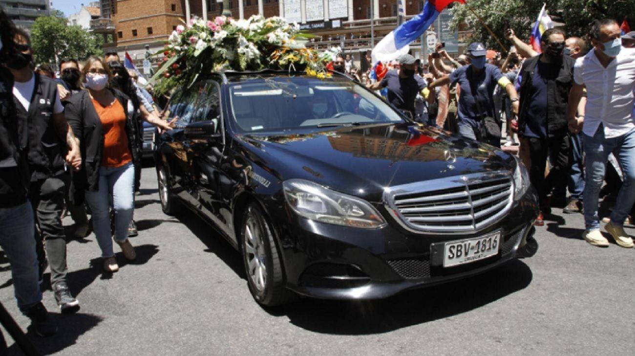 Una multitud despide al ex mandatario uruguayo.